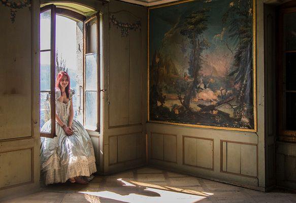 AU CHÂTEAU (3) - Côté salon
