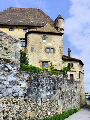Au château...