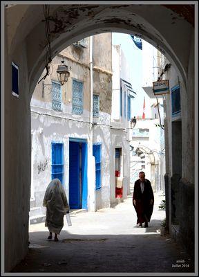 Au coeur de la médina de Tunis