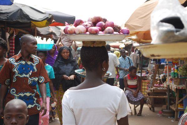 Au coeur d'un marché africain, 2009