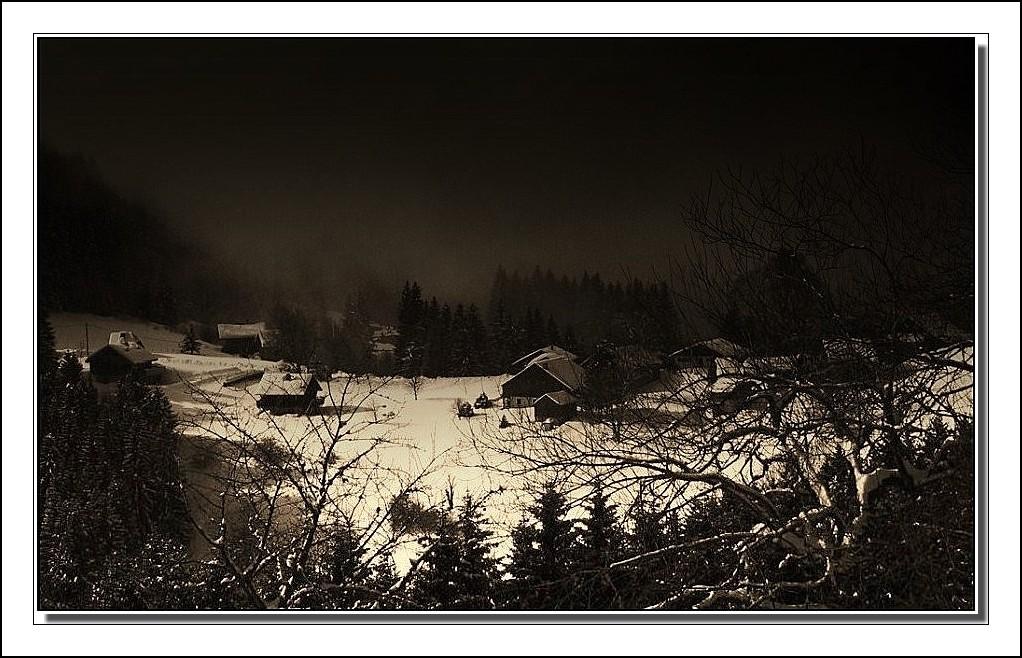 Au col du Feu, c'est déjà l'hiver