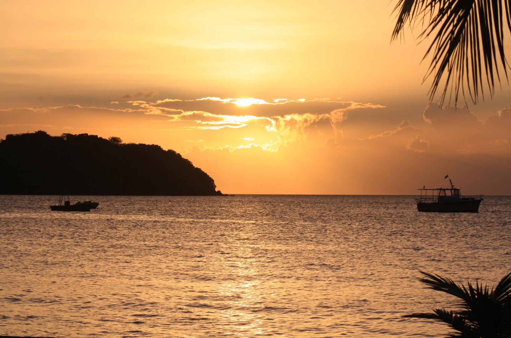au couchant a l'anse a l'ane , Martinique