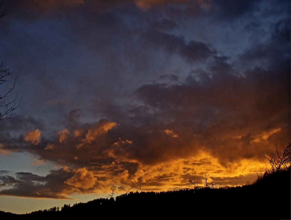 au crépuscule - Abenddämmerung