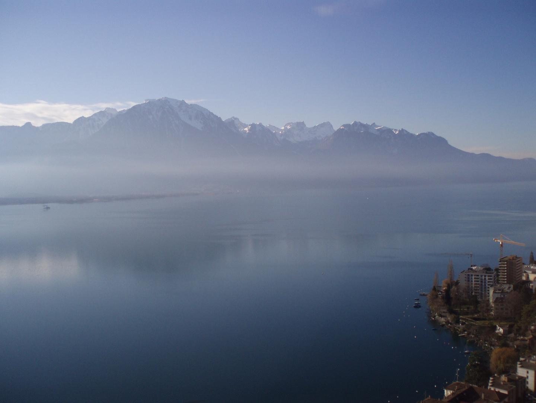 Au dessus de Montreux
