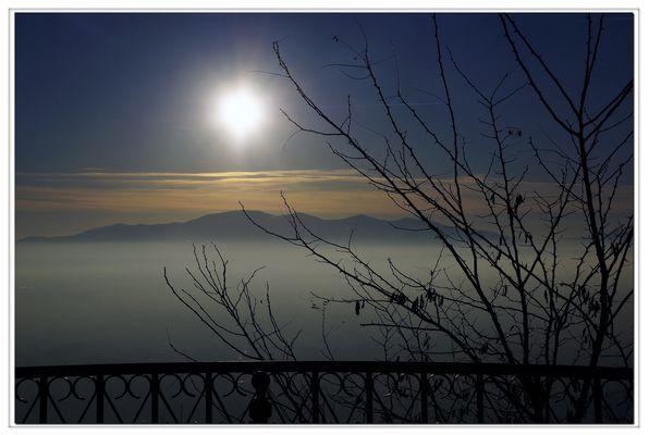 au dessus du brouillard...