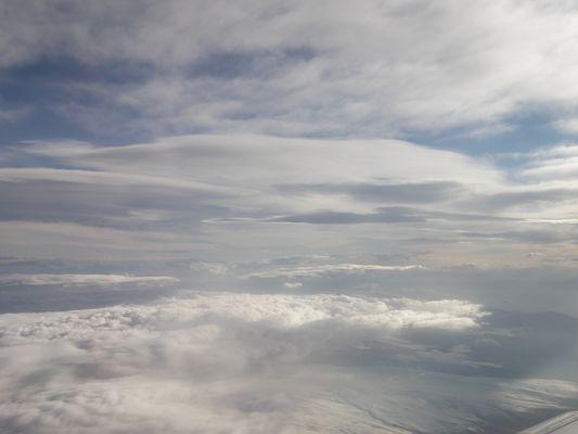 Au dessus du Mont Ararat ...