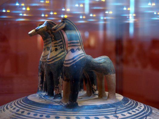 Au musée national d'Athènes 2