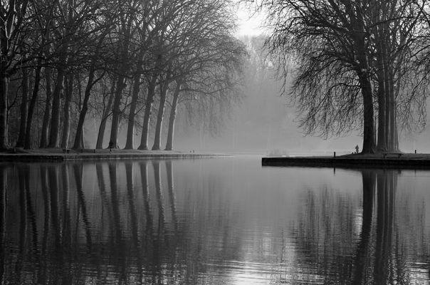 Au petit matin au bord du canal.