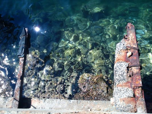 Au pied du récif