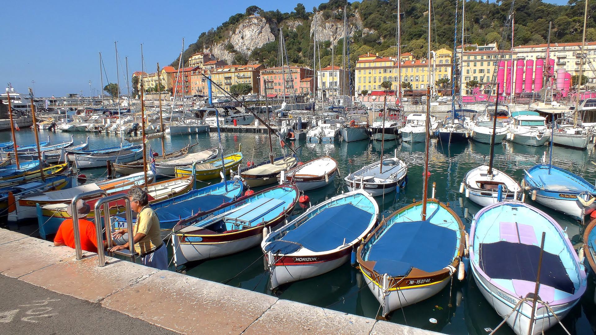 Au port de Nice