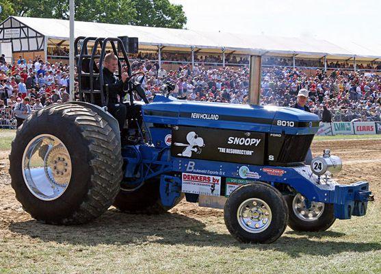 Auch als Traktor zu gebrauchen!