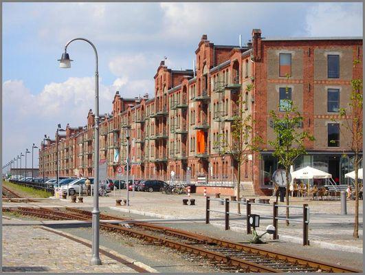 ... auch Bremen hat eine Speicherstadt ...