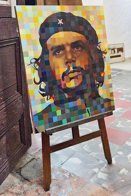 auch Che gibt es bereits in Pixelform
