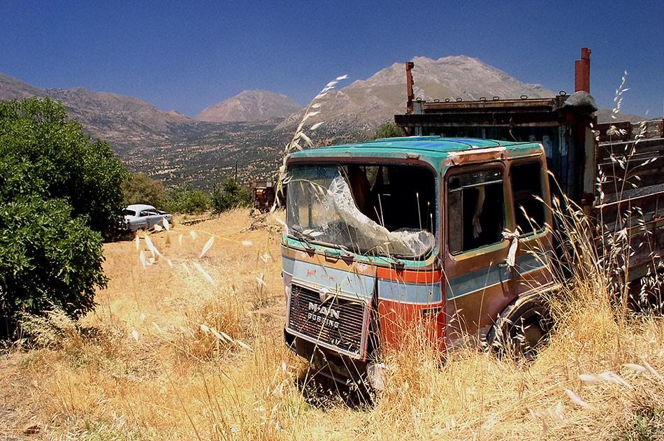 Auch das ist Kreta...