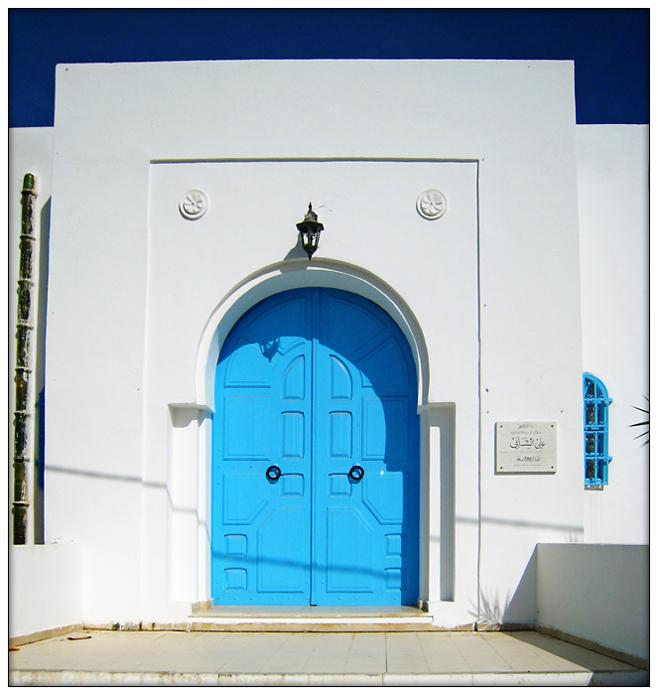 Auch diese schöne Tür...