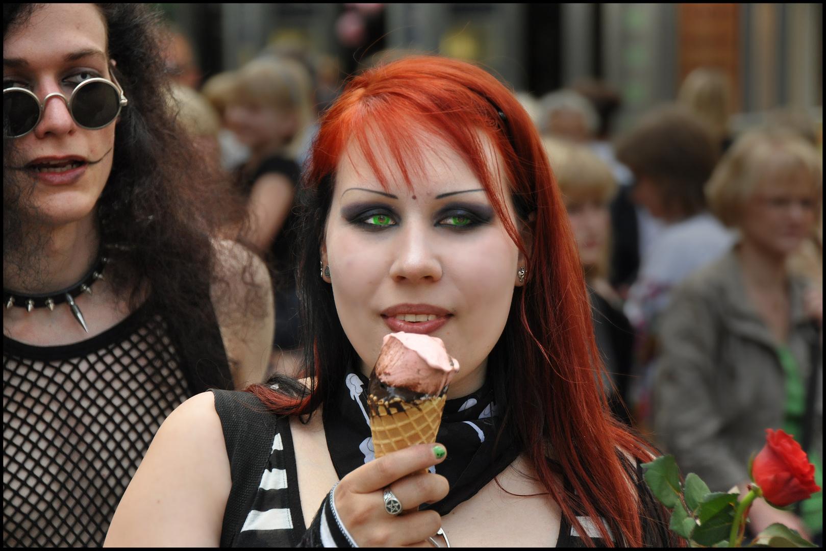 Auch ein Gothic braucht mal Eis!
