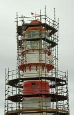 Auch ein Leuchtturm will schön sein