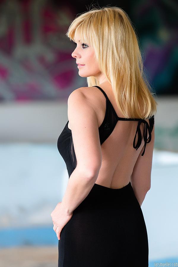 Auch ein schöner Rücken kann entzücken.