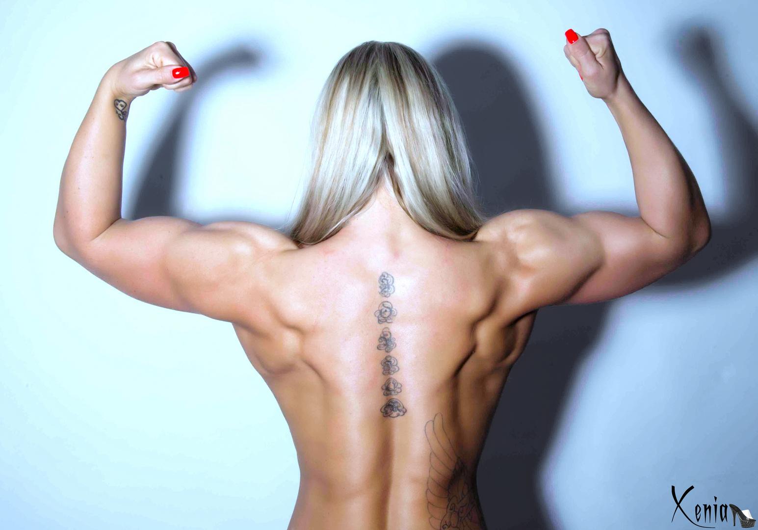 Auch ein schöner Rücken, kann entzücken ;-)