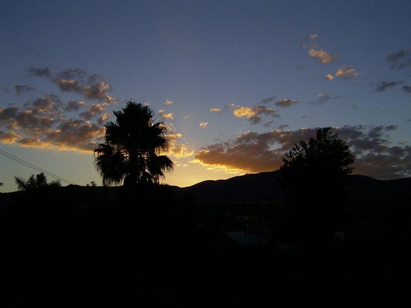 auch ein Sonnenuntergang