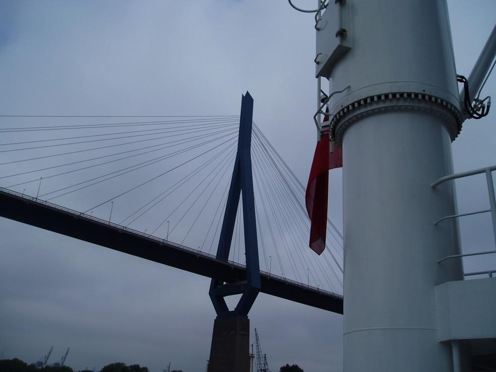 auch eine Perspektive sich die Brücke anzuschauen