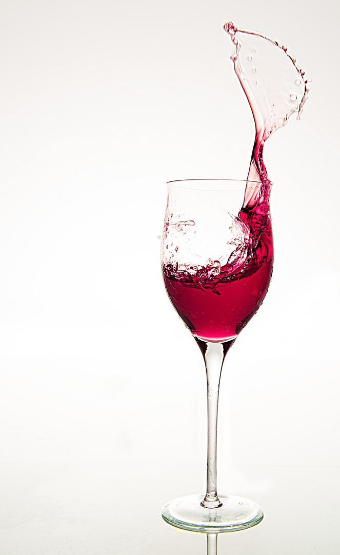 Auch einmal mit Wein ....