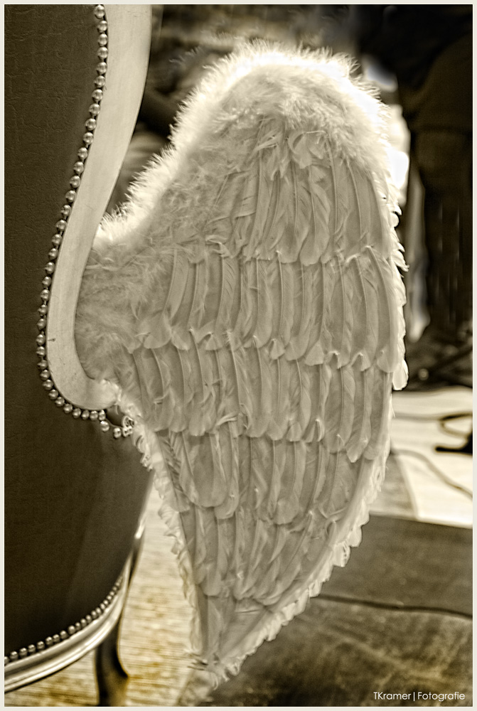 .... auch Engel brauchen kleine Pausen.....