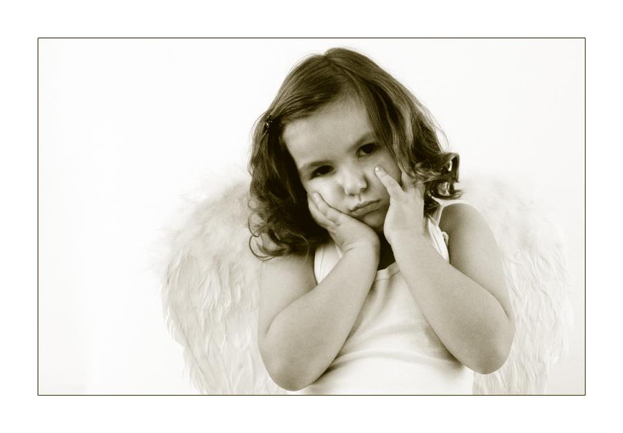 Auch Engelchen müssen warten........