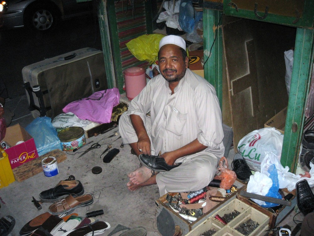 Auch er verdient sein Geld in Doha - Katar