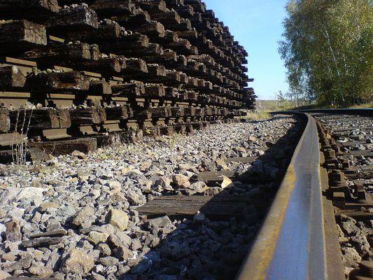Auch Gleise werden mal nicht mehr gebraucht