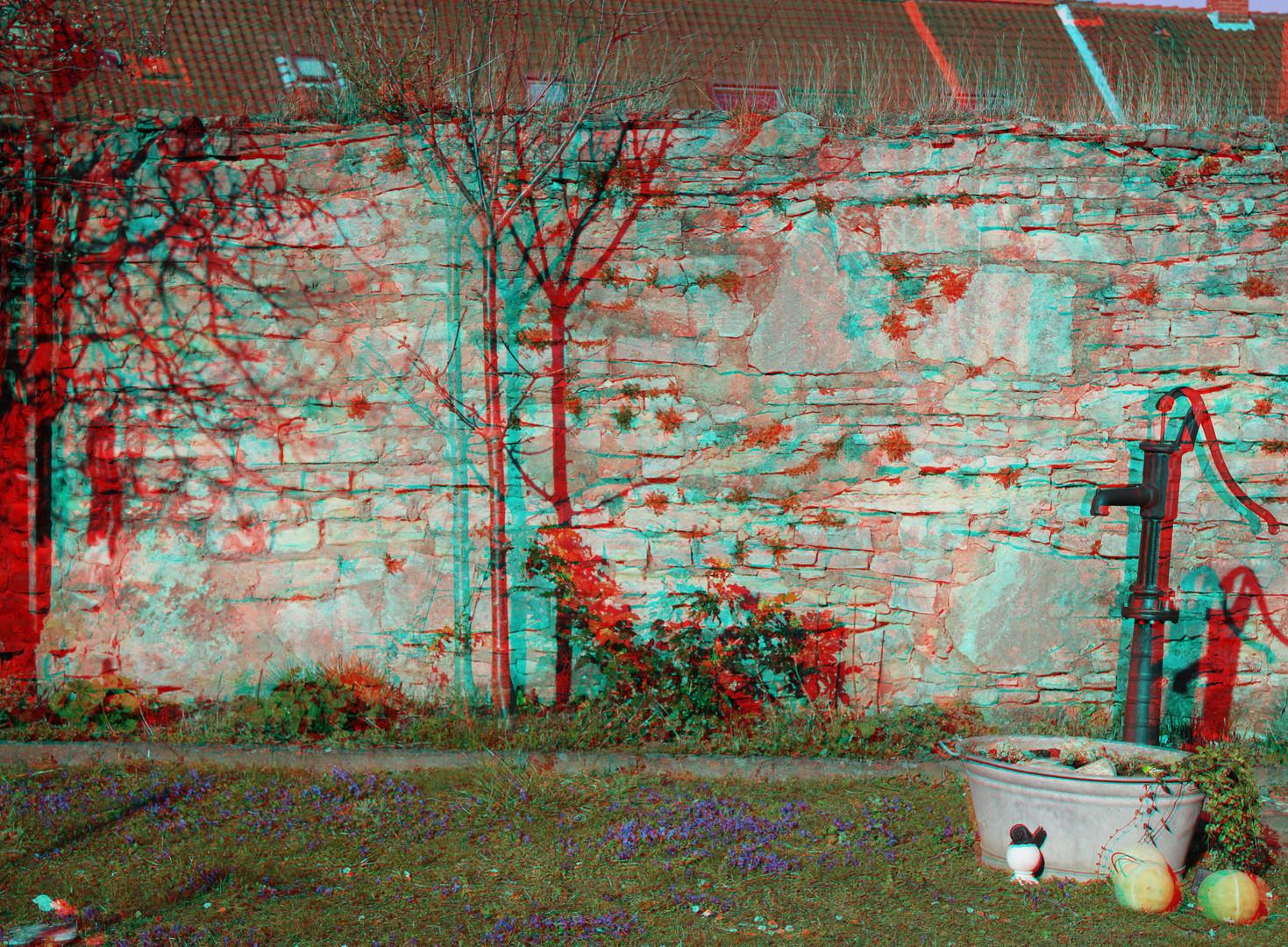Auch im Garten 3D