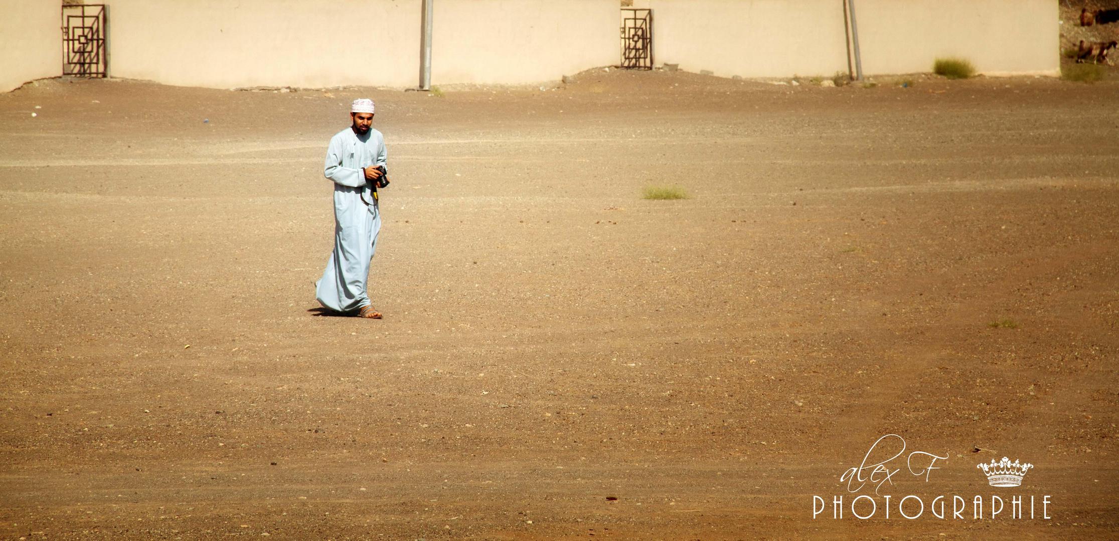 Auch im Oman wird fotografiert