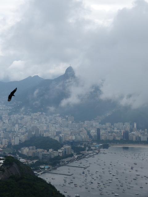 auch in Rio regnet ...