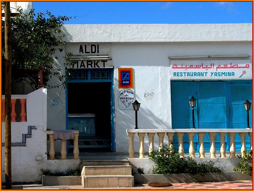Auch in Tunesien gibts Aldi !!