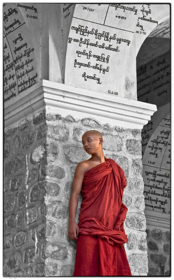 Auch junge Mönche sind nur Kinder!
