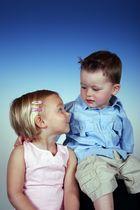 auch Kinder haben sich lieb