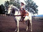 Auch kleine Cowboy werden einmal Groß