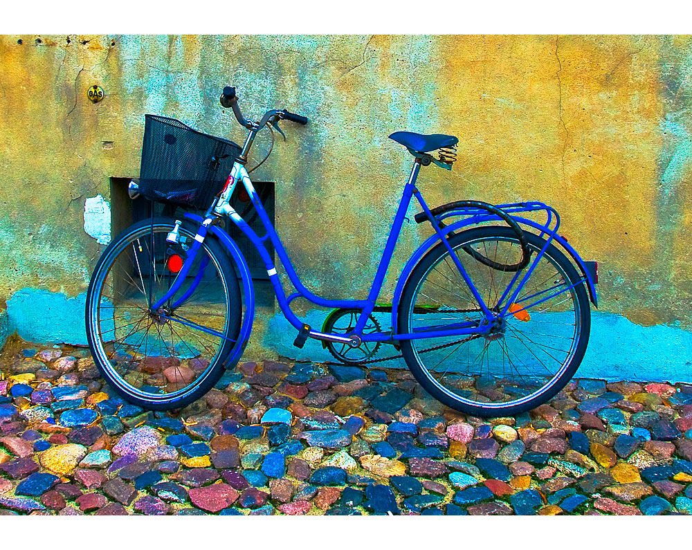 Auch mal ein Fahrrad