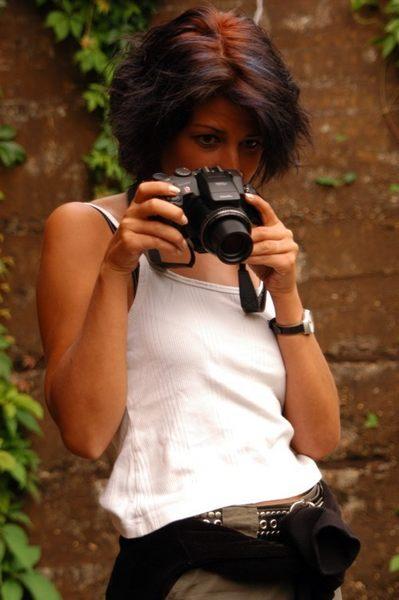 Auch mal wieder als Fotografin unterwegs