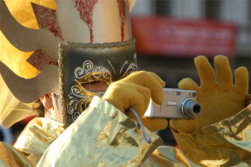 "auch ""Masken"" fotografieren ..."