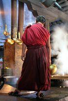 Auch Mönche kochen