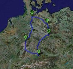 Auch ne schöne Tour für 1600 Km