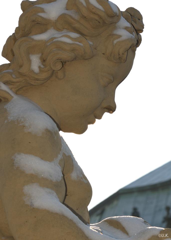 ...auch Skulpturen haben Schnupfen...