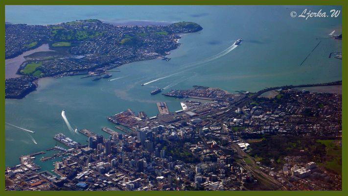 Auckland aus der Luft