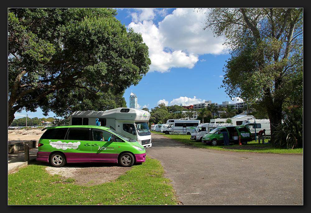 Auckland - Takapuna Beach Holiday Park