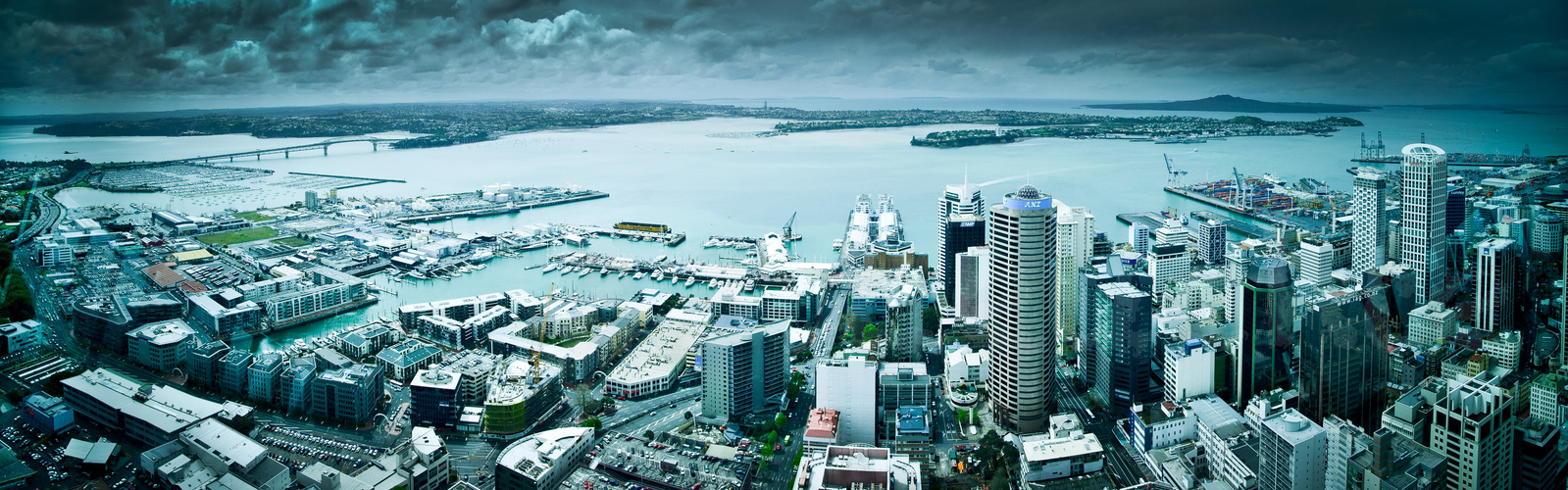 Auckland View from Skytower