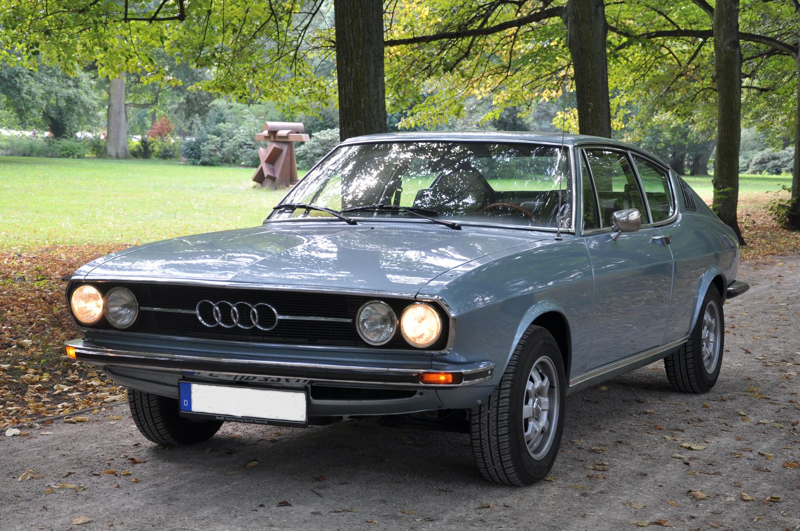 Audi 100 Coupé S - eins der schönsten Modelle der Marke