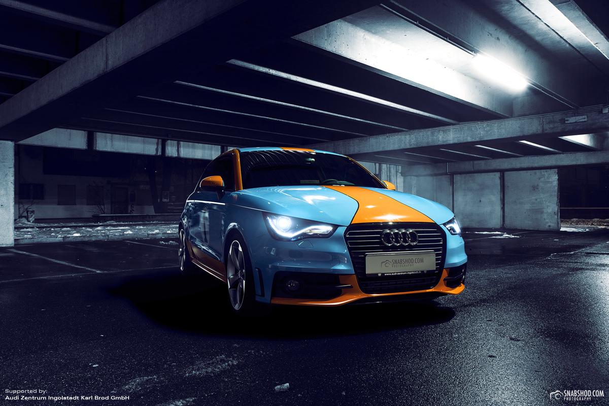 Audi A1 Gulf Design #3