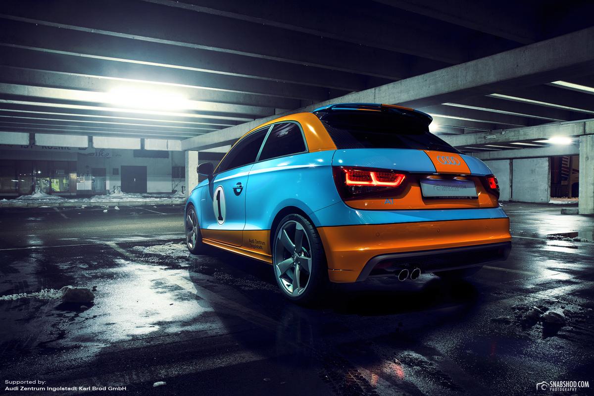 Audi A1 Gulf Design