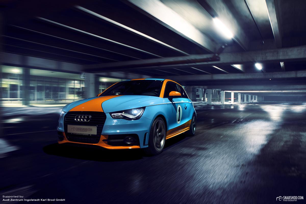 Audi A1 Gulf Design #4